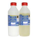 Résine polyuréthane de coulée 2 bouteilles à mélanger 2 kg