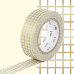 Masking Tape 1P Quadrillé or 15 mm x 10 m