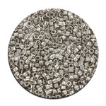 Perles Toho 11/0 plating effet brillant 3g - 711 Argent