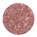 Perles Toho 11/0 inside color effet brillant irisé 3g - 191 Rose