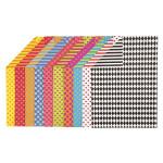 Papier imprimé à motifs double face A4 21 x 29,7 cm 250 g/m² 20 feuilles