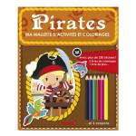 Ma mallette d'activites et coloriage Pirates