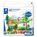 Crayon de couleur Design Journey étui de 48 pcs