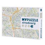 Puzzle plan de Strasbourg