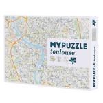 Puzzle plan de Toulouse