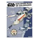Mon grand bloc de coloriages avec stickers Disney Star Wars