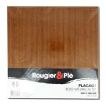 Placage bois naturel Acajou sapelli ep. 0,6 mm 30 x 30 cm