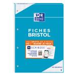 Bloc Bristol 2.0 petits carreaux Q.5x5 Perforé 30 fiches A4