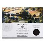 Papier Pastel Card Pochette Noir anthracite 6F 30 x 40 cm
