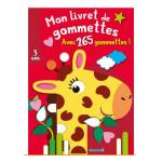 Mon livret de gommettes Girafe