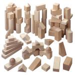 Jeu de construction Blocs en bois 60 pcs