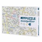Puzzle plan de Montpellier