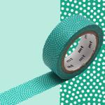 Masking Tape 1P Samekomon hisui 15 mm x 7 m
