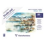 Carnet aquarelle Goldline Studio 200 g/m² 30 x 40 cm 50 Feuilles