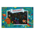 Pochette Mes Créations : Cartes à gratter Forêts enchantées
