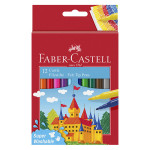 Feutre scolaire Château 12 couleurs